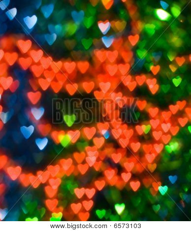Coloured Hearts