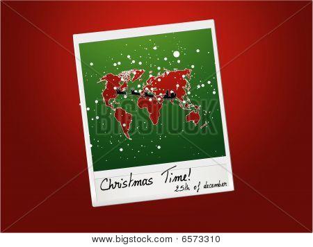 Weihnachten-Speicherkarte