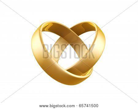 Golden Wedding Ring