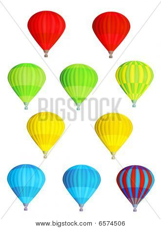 Balloons Isolated
