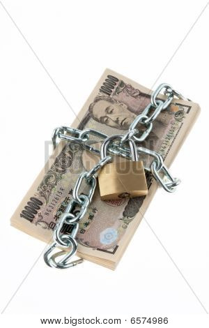 Locked Japanese Currency