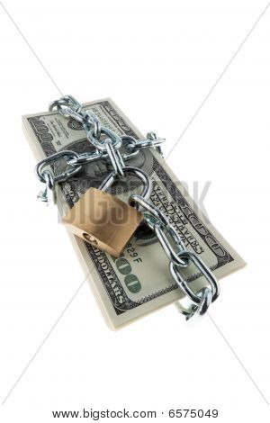 Locked American Currency