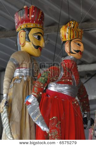 Puppets And Marionettes Of Rajput Princes