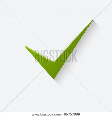 True sign icon