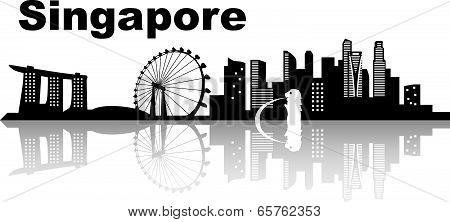Singapore Skyline Skyline