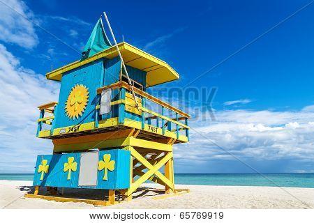 Lifeguard Stand, Miami Beach, Florida