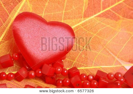Heart And Beads