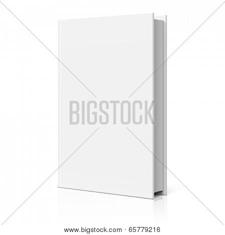 Blank book cover. Vector.