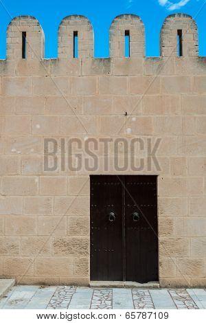 Medina Wall With Door (3)
