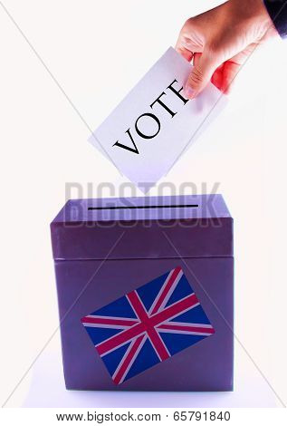 Uk Urn For Vote