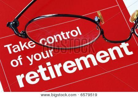 Konzentrieren Sie und die Kontrolle über Ihren Ruhestand