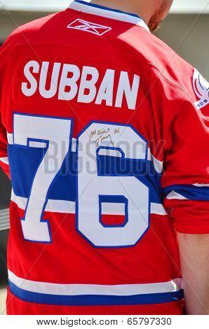 Montreal Canadiens fan