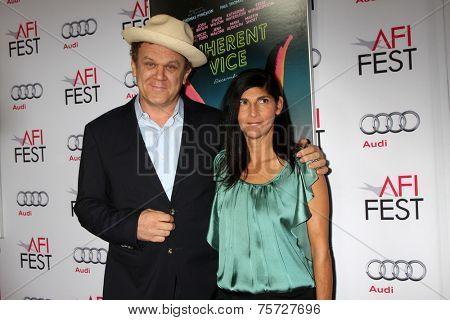LOS ANGELES - NOV 8:  John C. Reilly at the