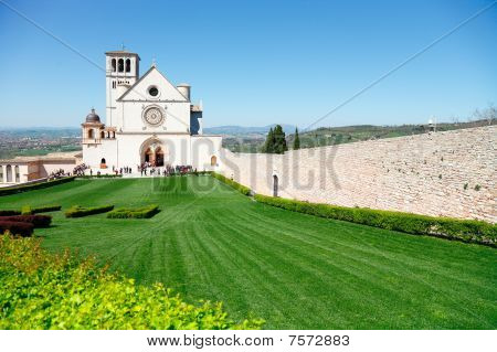 Assisi, Italy - Church Of St. Francis In Assisi poster