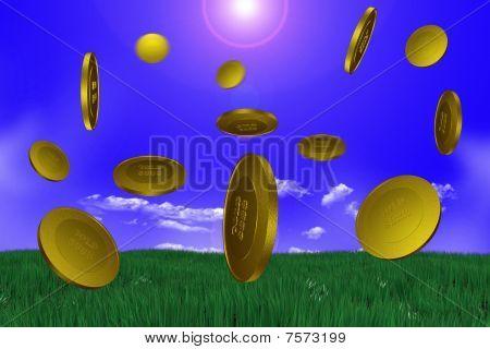 Sky Gold Money