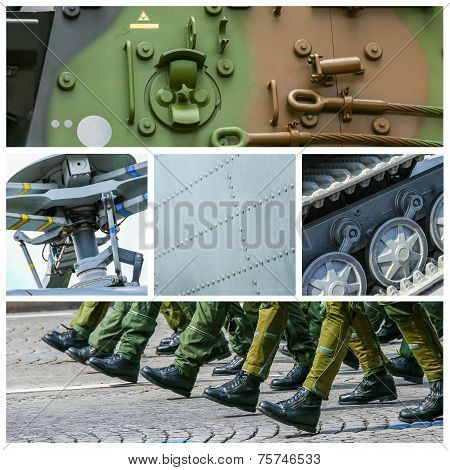 Collage Of Misc Military Pictures