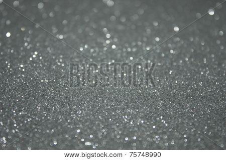 Silver Glitter Background Texture