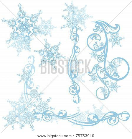 Snow Design Elements