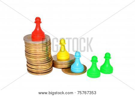 Coins And Figurines