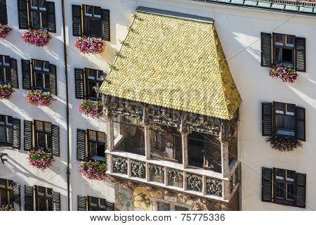The Golden Roof In Innsbruck, Austria.