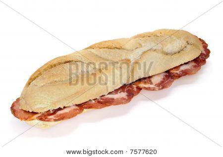 Lomo Embuchado Sandwich