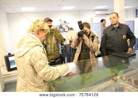 Candidate for mayor of Khimki opposition Evgeniya Chirikova