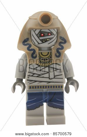 Snake Charmer Mummy Lego Minifigure