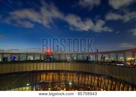 Umeda Sky Building in Osaka, Japan