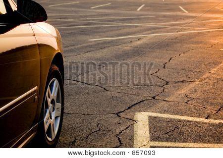Parking Lot Sunrise/Sunset