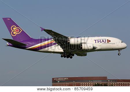 Thai Airways International Airbus A380-800 Airplane
