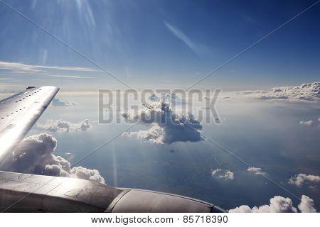 Airtransport travel concept.