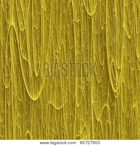 Abstract Melting Wax Macro 3D Texture With Many Vertical Gold Streaks
