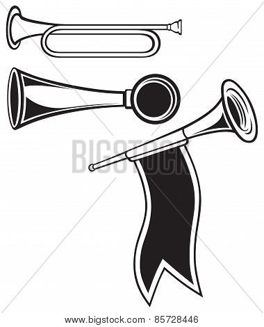 Fanfare and wind musical instrument