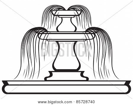 Fountain in the style of renaissance