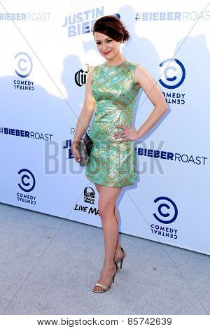 LOS ANGELES - MAR 14:  Maribeth Monroe at the Comedy Central Roast of Justin Bieber at the Sony Pictures Studios on March 14, 2015 in Culver City, CA