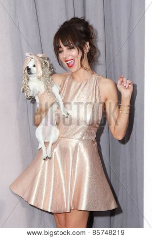 LOS ANGELES - MAR 14:  Natasha Leggero at the Comedy Central Roast of Justin Bieber at the Sony Pictures Studios on March 14, 2015 in Culver City, CA