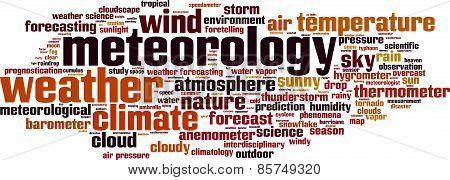 Meteorology Word Cloud
