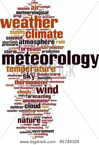 Meteorology Word Cloud