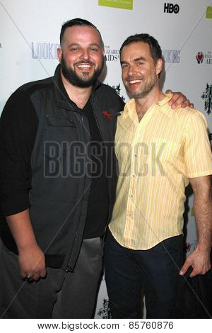 LOS ANGELES - MAR 19:  Daniel Franzese, Murray Bartlett at the