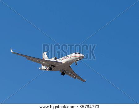 Beautiful Airplane Falcon 7X
