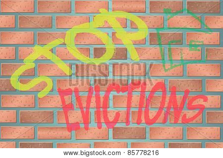 Wall with Stop Evictions