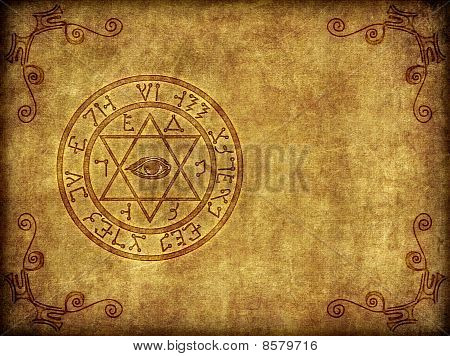 Ancient Magik Sigil Illustration