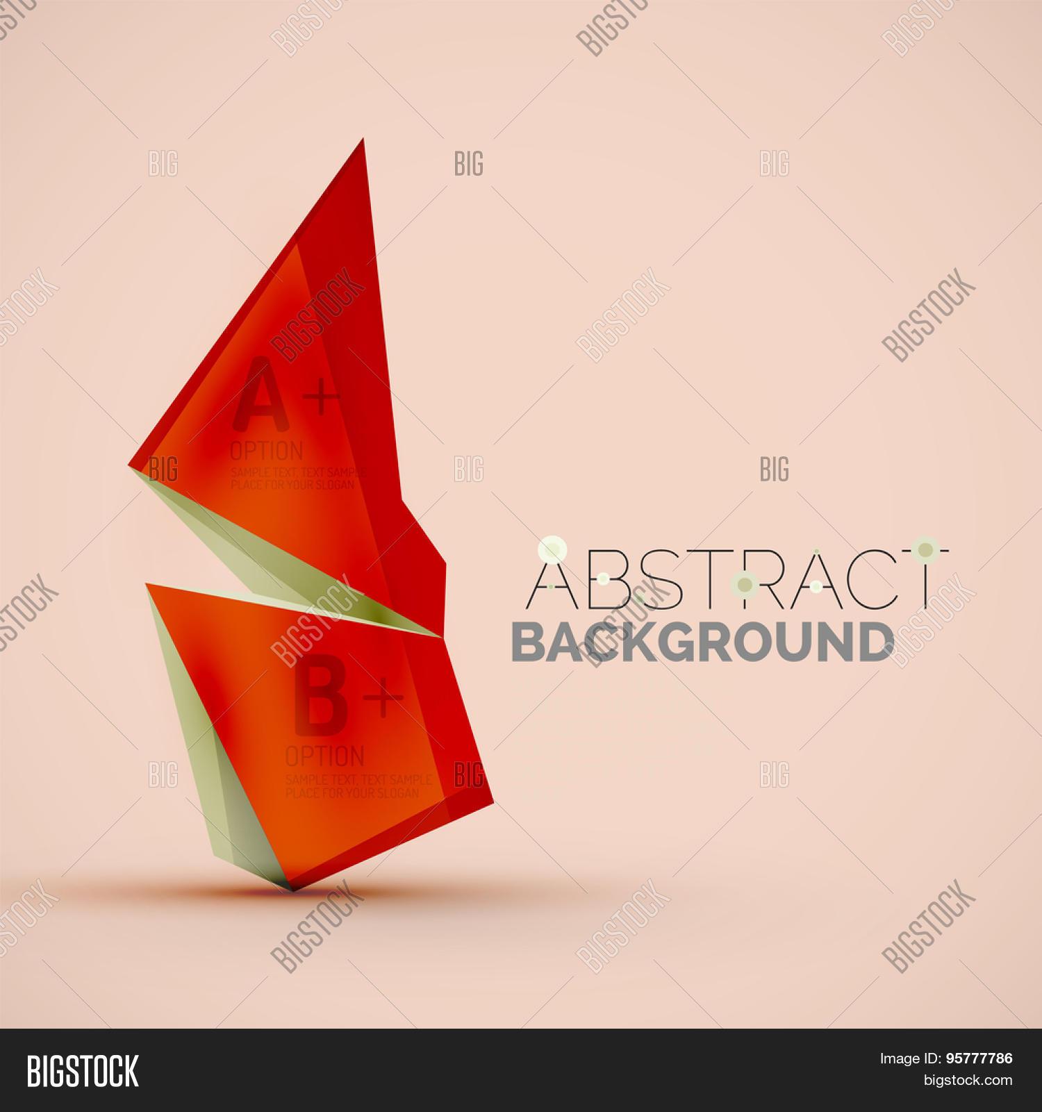 3d Geometric Shapes Vector & Photo (Free Trial) | Bigstock