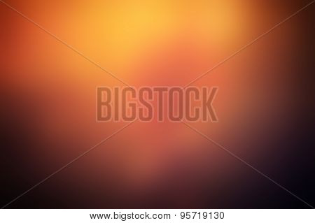 Vibrant, Sunshine Blurred Background