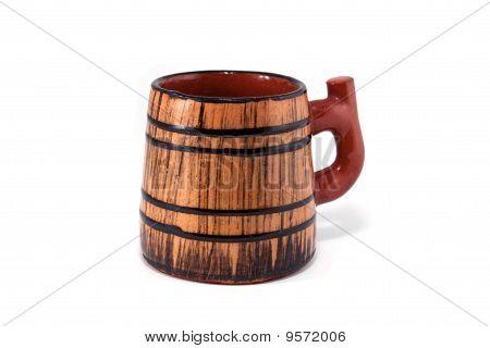 Old pub ceramic mug