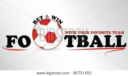 Sport Bet advertising sticker