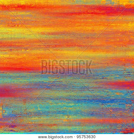 Old texture - perfect background with space for your text or image. With different color patterns: yellow (beige); red (orange); blue; purple (violet)