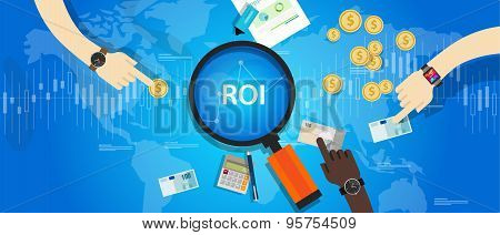 ROI Return on of investment