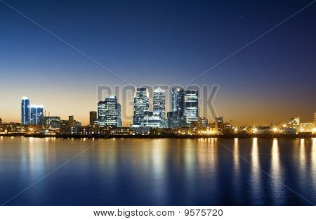 Canary Wharf, London.