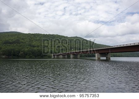Pepacton Reservoir At Shavertown Bridge